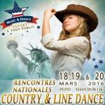 RENCONTRES NATIONALES DE LA COUNTRY – 18,19 et 20 MARS 2016