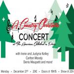 Concert « A Country Christmas »