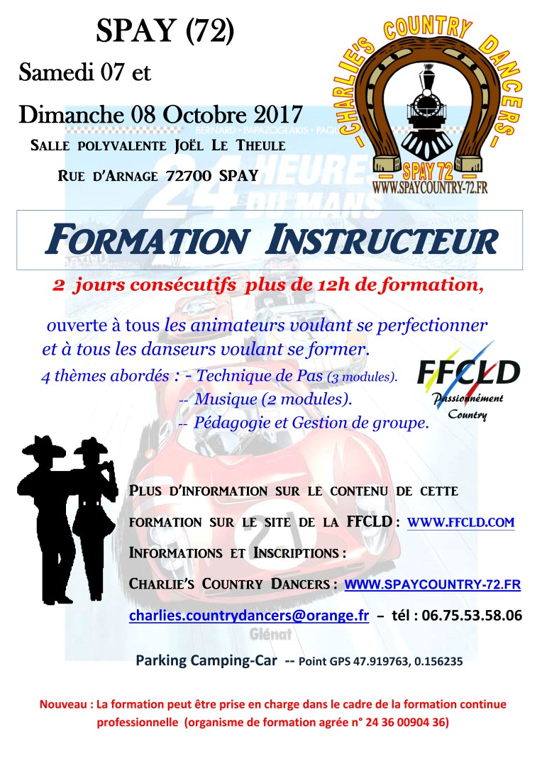 FORMATION INSTRUCTEUR à SPAY (72)