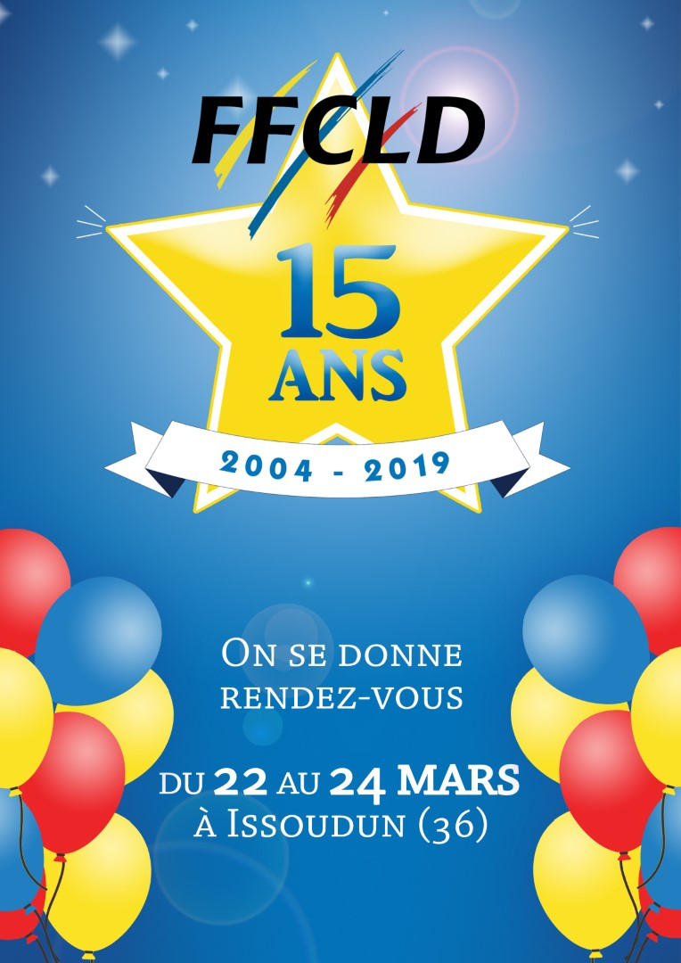 RENCONTRES NATIONALES COUNTRY & LINE DANCE 2019 et « 15 ans de la FFCLD »