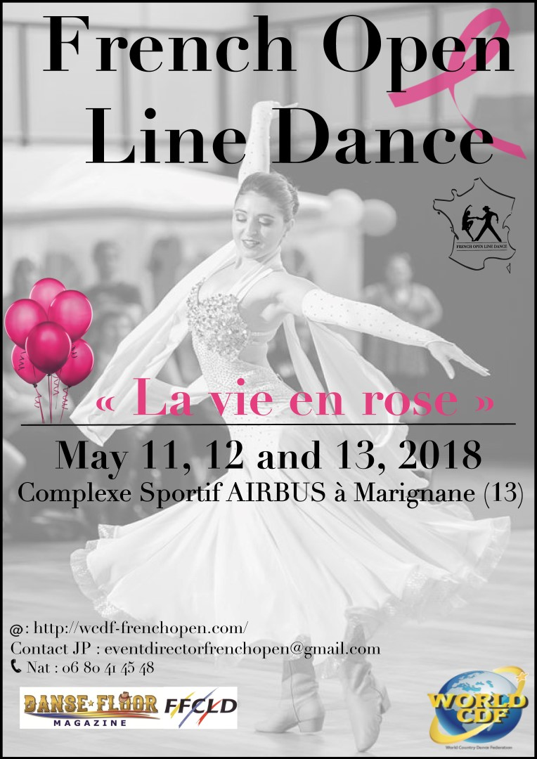 FRENCH OPEN LINE DANCE 2018