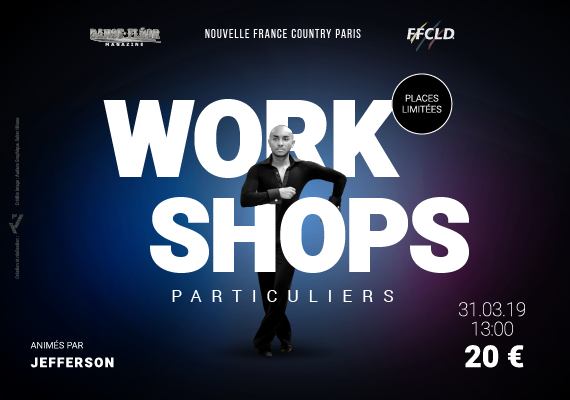 Workshops à Paris avec Jefferson Razafiniaina – 31 mars