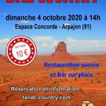 Bal Country Arpajon (91) 4 octobre 2020